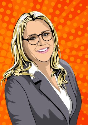 Deborah Trachsler - Geschäftsführerin - Hochgradig analytisch und direkt